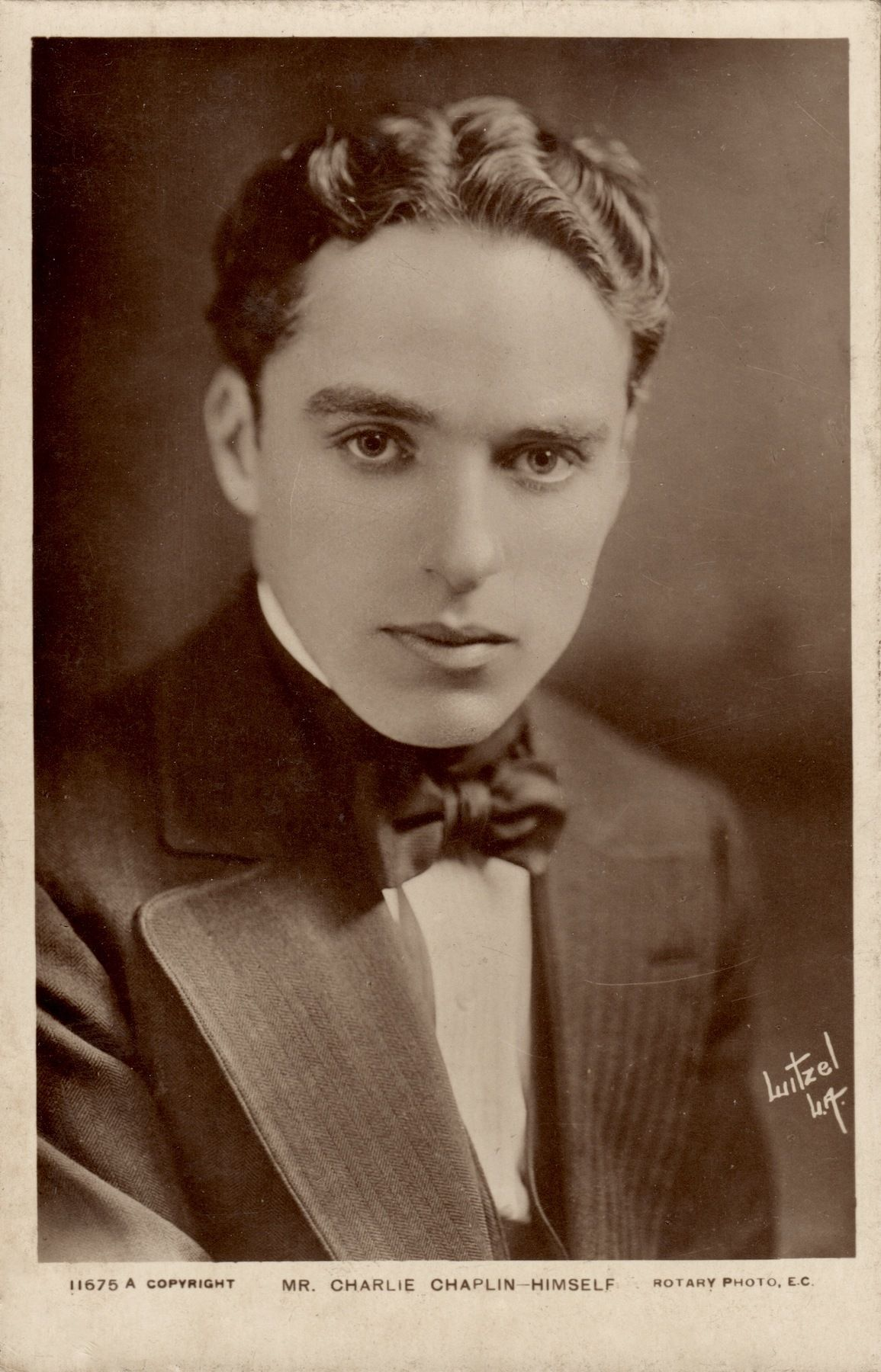 English Comedians, Charles Spencer, Charlie Chaplin, Hollywood Actor, Man  Photo, Movie