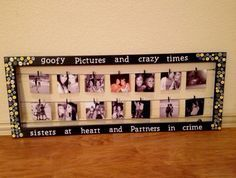 Bestfriends! on | craft ideas | Pinterest | College, Gift and Birthday