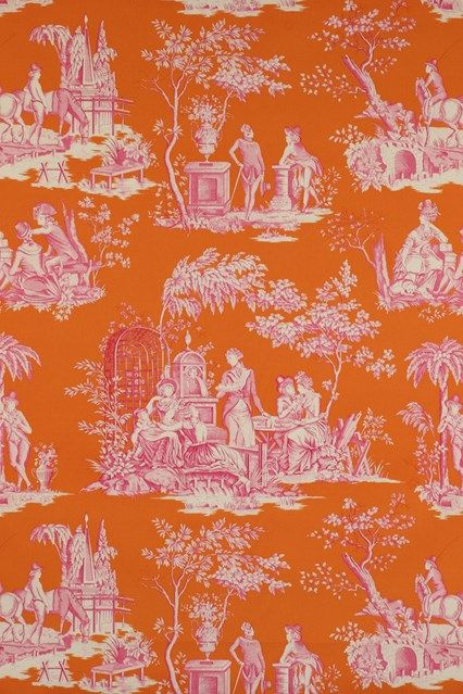 Discover hundreds of wallpaper ideas on HOUSE - design, food and travel by House & Garden including Balleroy by Manuel Canovas