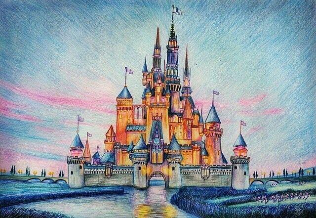 днем картинки замков для личного дневника презентации