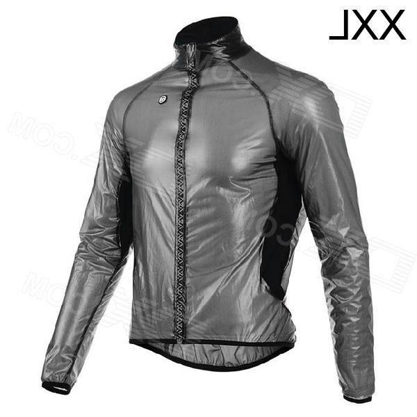 Monton 1019 Cycling Waterproof / Windproof Polyester Coat - Black (XXL)