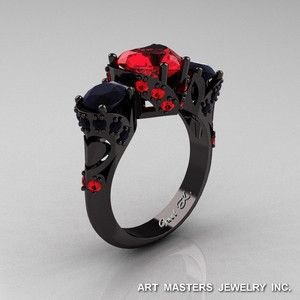neat black gold black diamond wedding rings more design httparticleallcomblack wedding bandblack gold black diamond wedding rings pinterest - Anime Wedding Rings