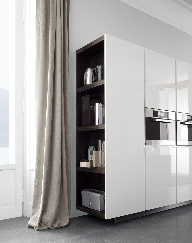 Küche - Praktischer Abschluss der Küche zum Esszimmerbereich | Ideen ...