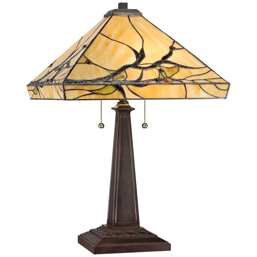 Budding Branch Robert Louis Tiffany Table Lamp Style W2363