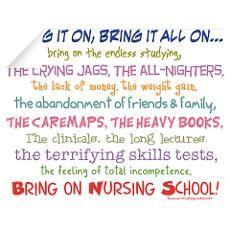 Nursing Student Quotes Nursing School Humor Nursing School Quotes Inspirational School Quotes