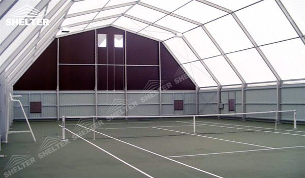 SHELTER tennis court cover Sports Structures - Indoor Tennis Court ...