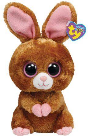 Amazon.com  Ty Beanie Boos Hopson Brown Bunny 13