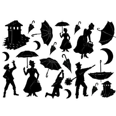 Mary Poppins Chimney Sweep Silhouette Images mary poppins vector - ...