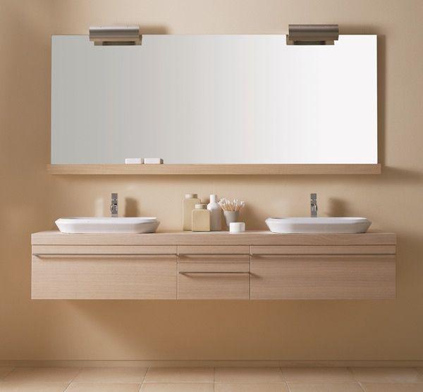 Mobile da bagno rovere sbiancato lignum mobili arredo bagno design moderno - Karol mobili bagno ...