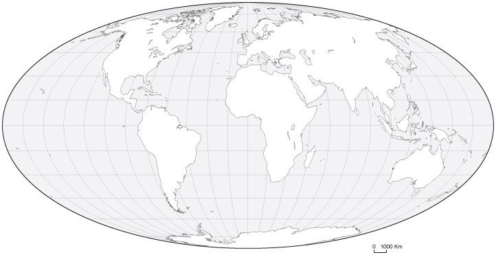 World black white blank outline map oval projection social world black white blank outline map oval projection gumiabroncs Gallery