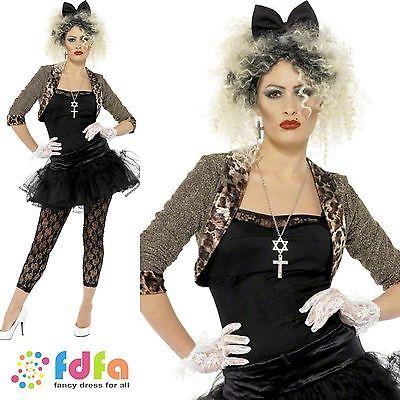 80s pop star wild #child #madonna - uk 8-18 - womens #ladies fancy - madonna halloween costume ideas