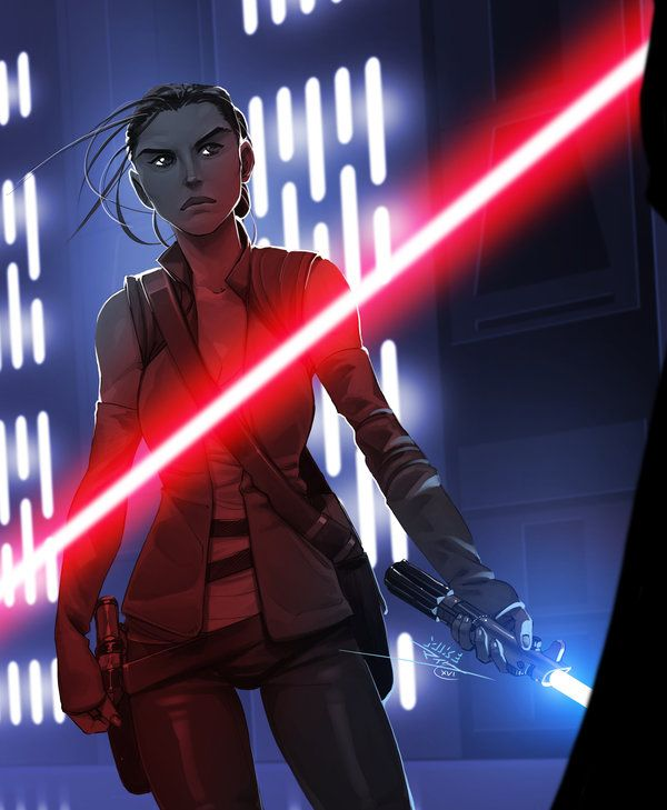 Star Wars Episode VIII: The Force is with her...