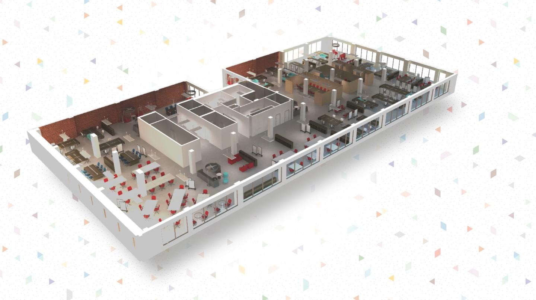 znalezione obrazy dla zapytania office floor plan - 3d Office Floor Plan