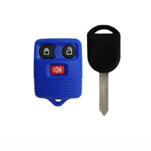 1998 2011 Ford F150 F250 F350 Blue Keyless Entry Remote And Ignition Key W Free Diy Programming Instructions Must Have 2 Working Keys To Acessorios Auto Auto