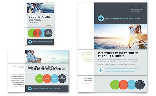 Business Analyst Flyer & Ad InDesign Template by @StockLayouts ...