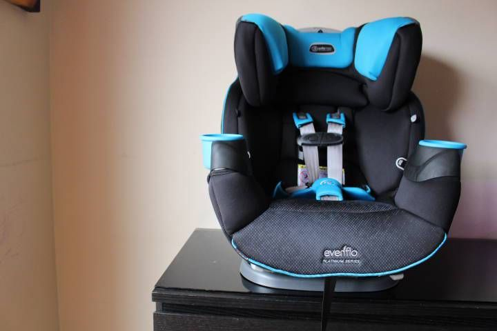 Our Evenflo Family Platinum Safemax All In One Car Seat With