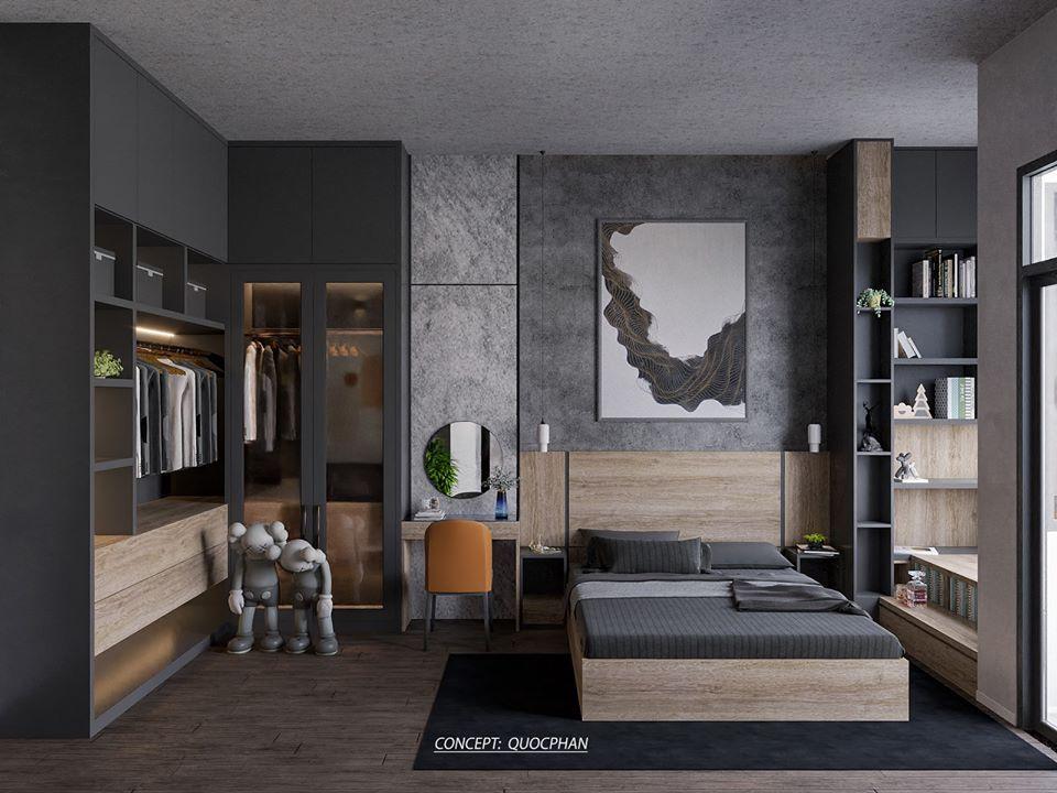 2618 Interior Bedroom Scene Sketchup Model by ...