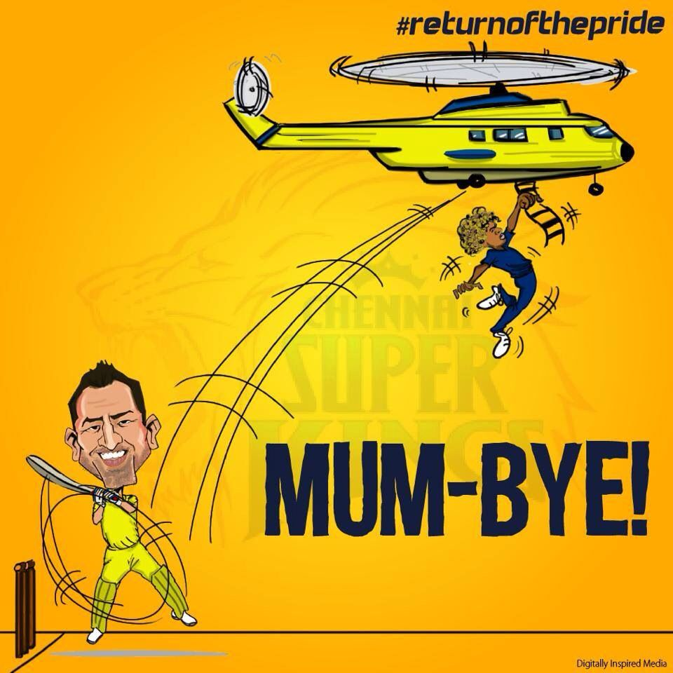 Pin By Santhosh Kumar On Dhoni Chennai Super Kings Cricket Wallpapers King Cartoon