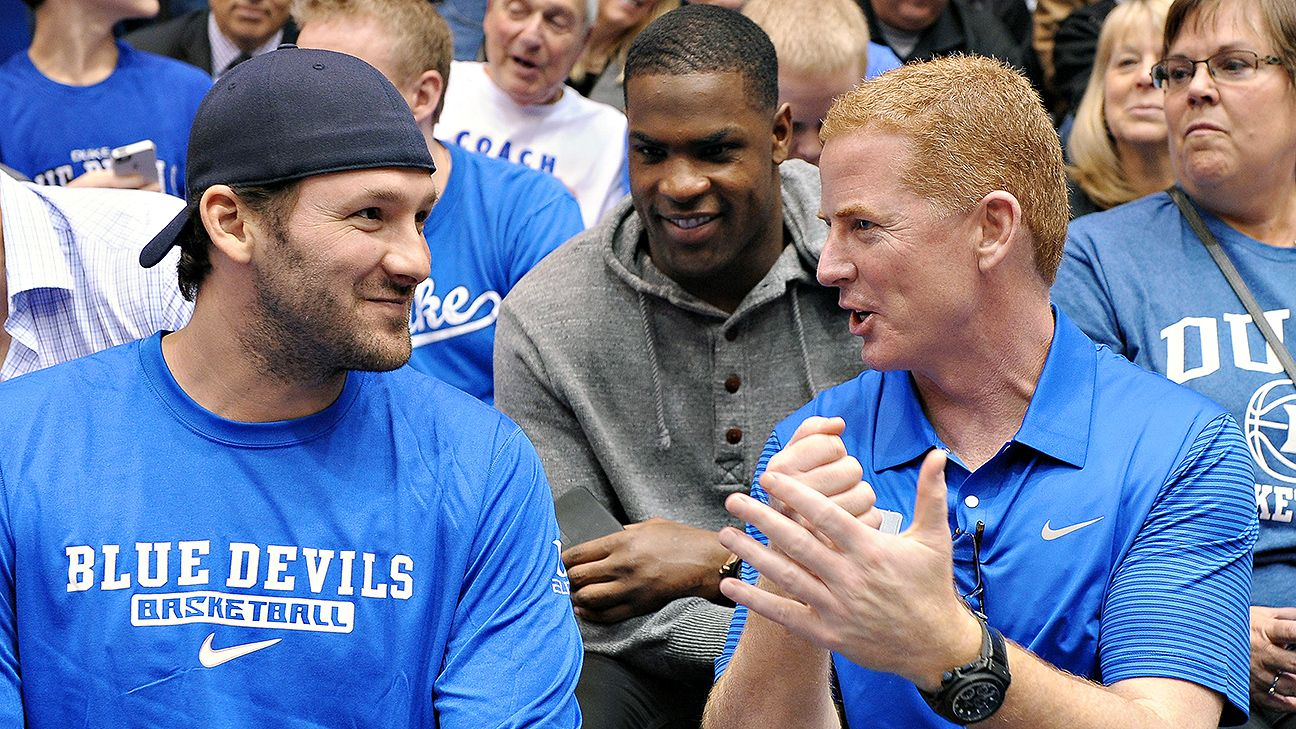ESPN Dallas Tony romo, Cowboys coach, Jason garrett