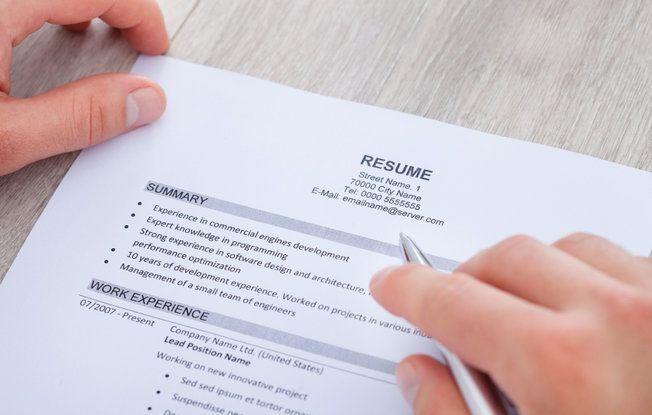 5 Steps to Creating a Nearly \u0027Perfect\u0027 Resume Perfect resume