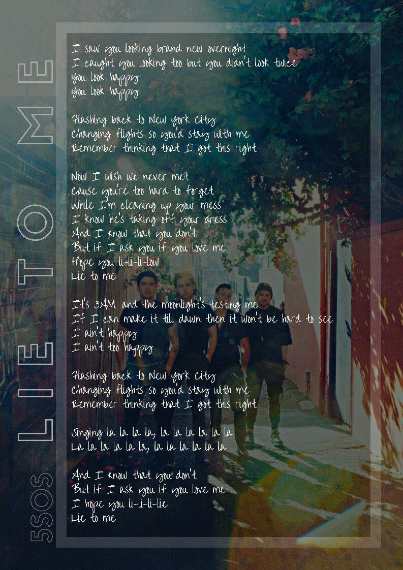 I get you back lyrics 5sos