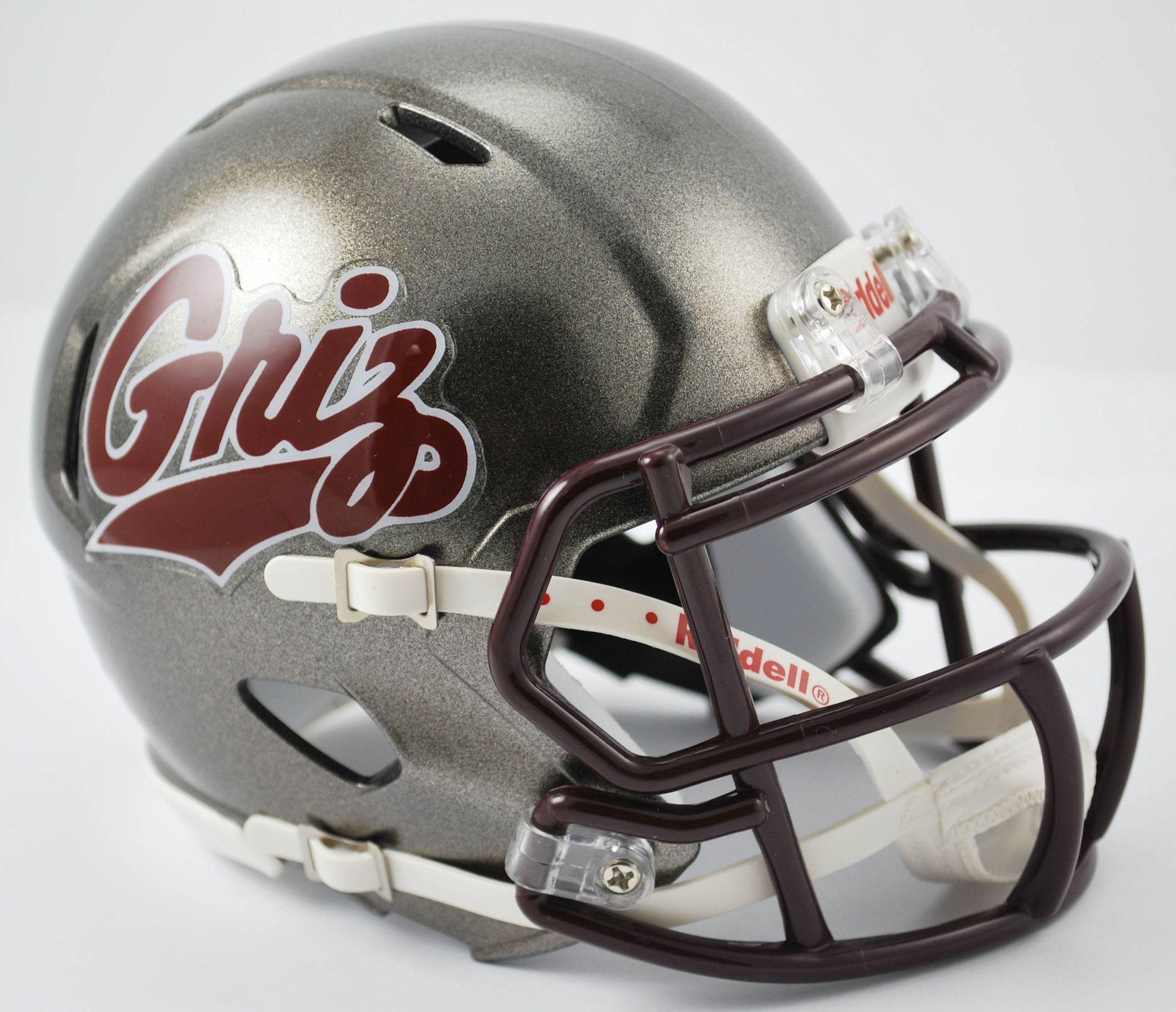 Montana grizzlies riddell speed mini helmet football