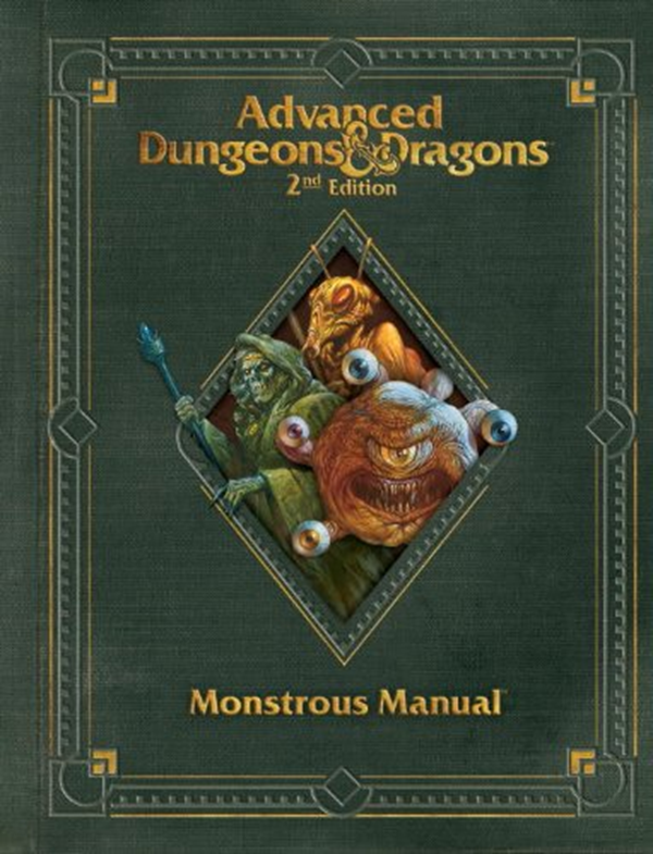 Premium 2nd Edition Advanced Dungeons Dragons Monstrous Manual D D Core Rulebook By Wizards Rpg Team Wizards Of The Coast Dungeons And Dragons Advanced Dungeons And Dragons Dungeons And Dragons Books