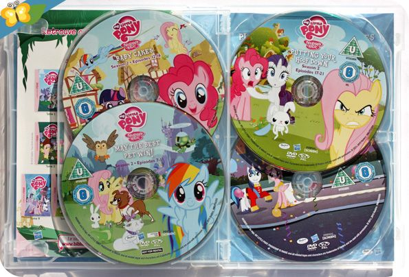 My little pony l 39 int grale de la saison 2 en dvd - My little pony en dessin anime ...