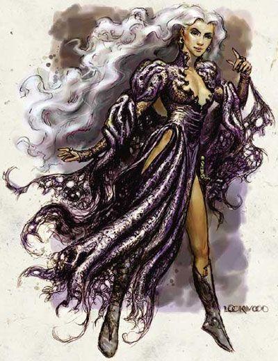 Alassra Silverhand, The Simbul, The Witch-Queen of Aglarond Forgotten Realms
