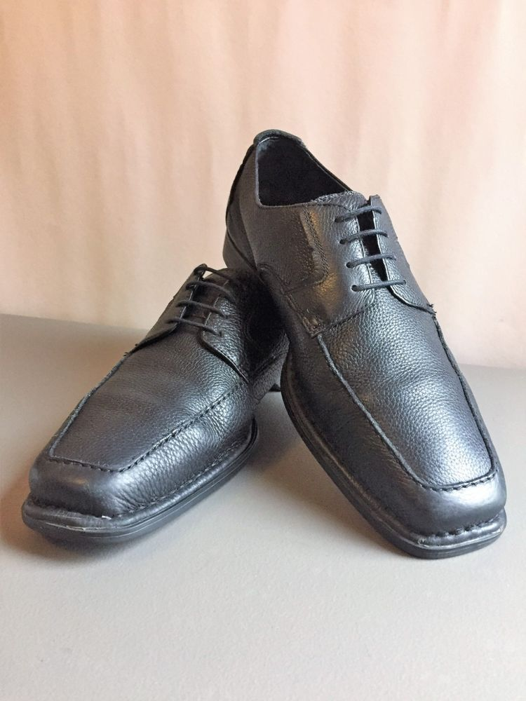 Mens Hush Puppies Lace Up Shoes Size 9 Formal Dress Work Casual Leather Fashion Clothing Shoes Accessories Menssho Mens Hush Puppies Lace Up Shoes Lace Up