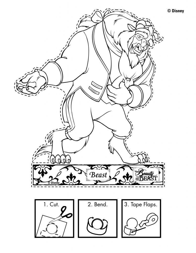Printable coloring pages of queen esther - Disney S Beauty And The Beast Printables Coloring Pages And Activities Skgaleana Kids Colouringcoloring Pagesqueen Estherdisney