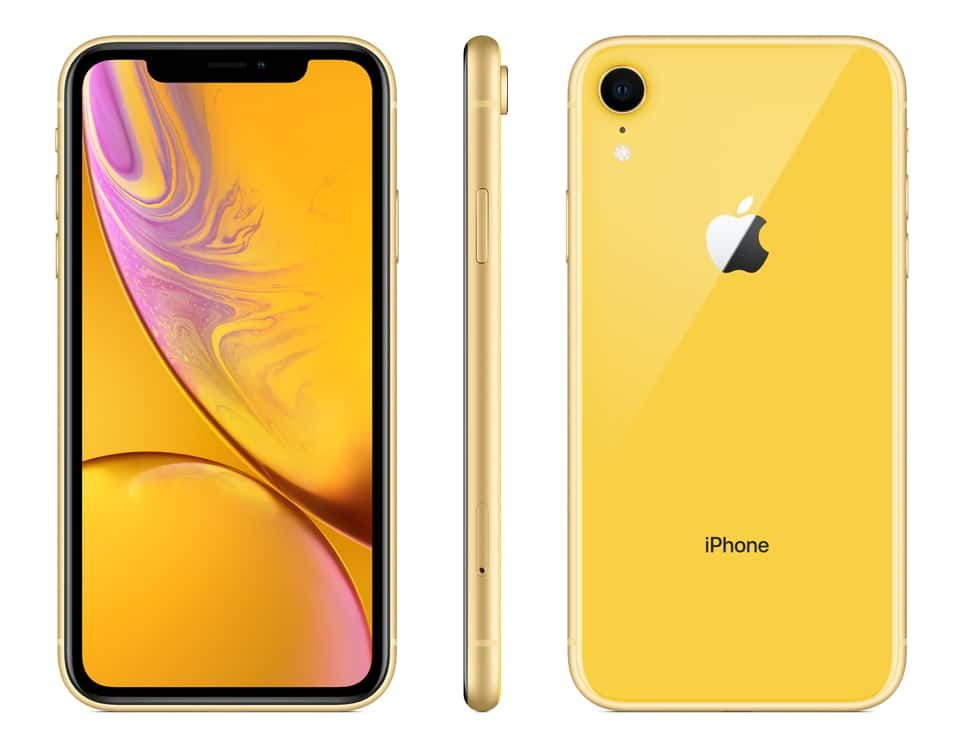 iPhone XR iPhone BOGO Offer from AT&T yellow iphone xr