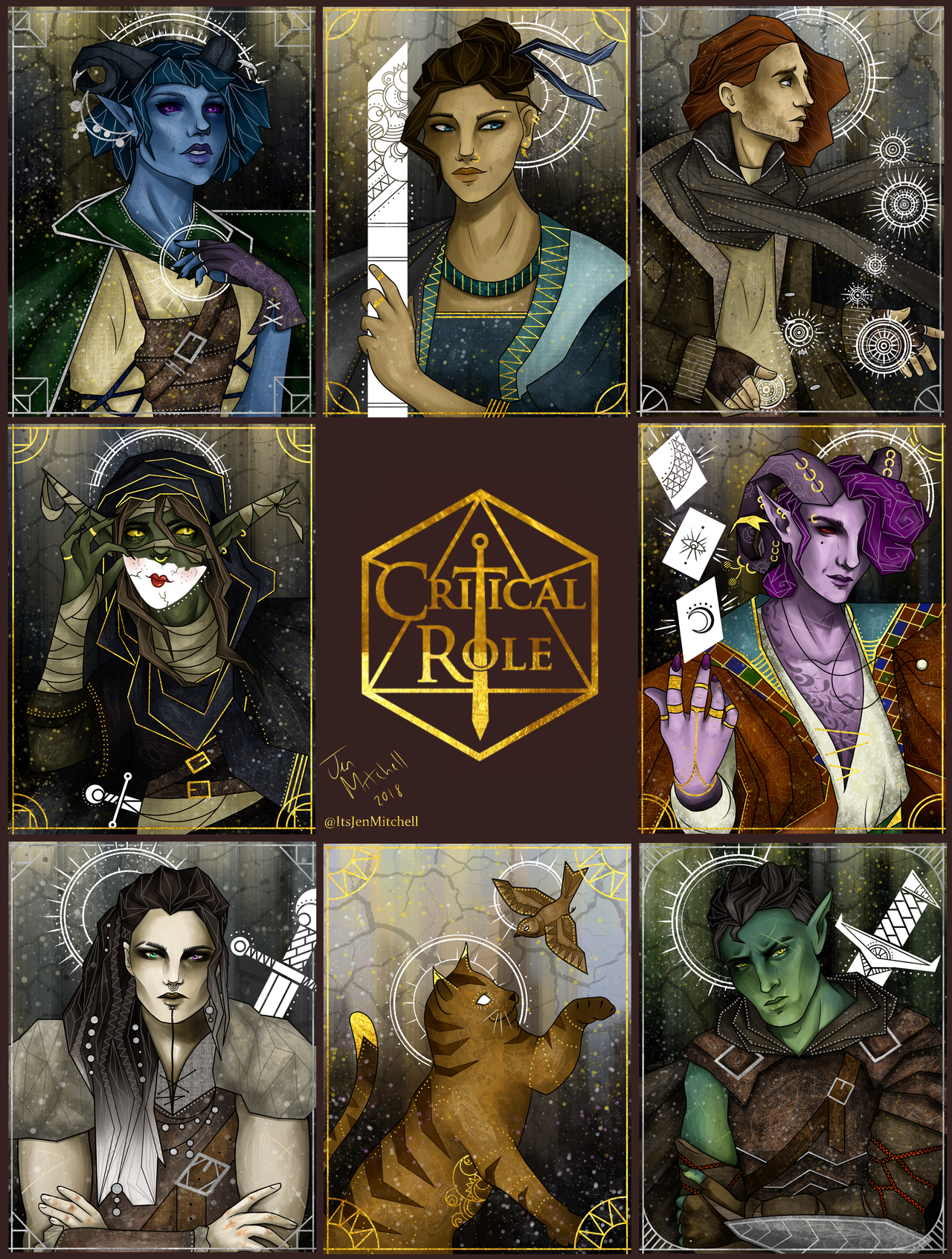 "Critical Role Major Arcana: Spring-forth-from-my-mind: ""Finally Compiled All My"