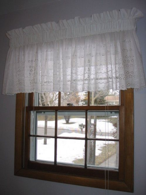 How to Make a Pocketed Window Topper | I'd rather be ...