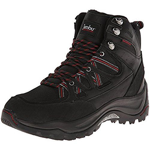 Jambu Mens Flex Climber Snow BootBlackRed13 M US ** Find out more about the  great