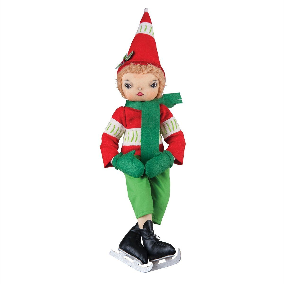 Torrence Ice Skating Christmas Boy | Elves, Christmas colors and ...