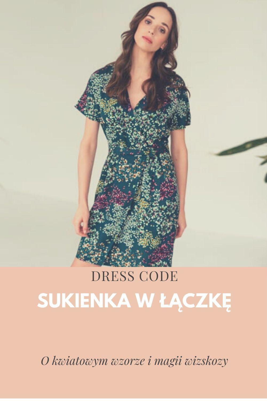 Sukienka W Kwiaty Z Wiskozy In 2020 Dresses With Sleeves Casual Dress Dress Codes
