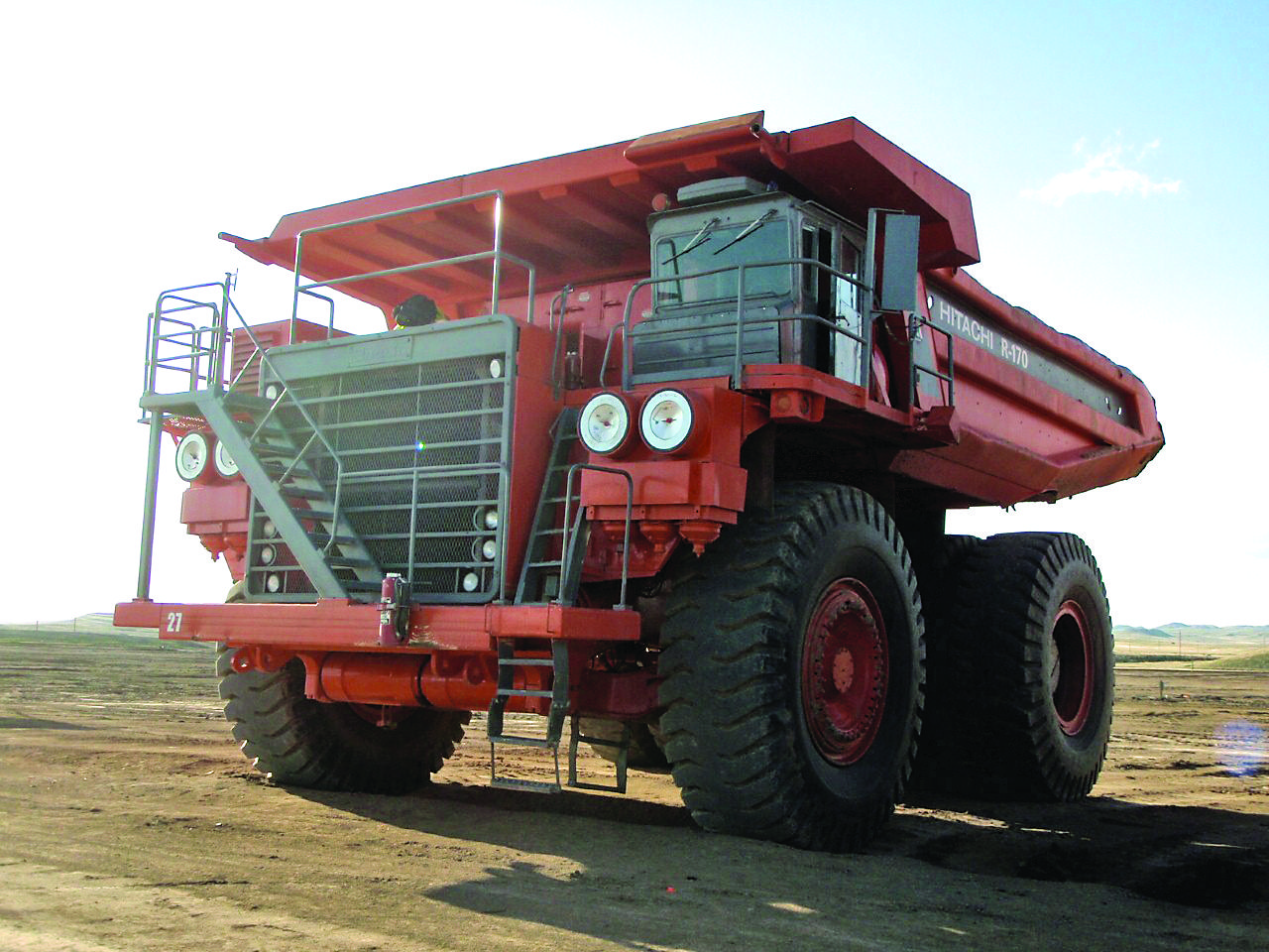 Euclid R170 rock truck