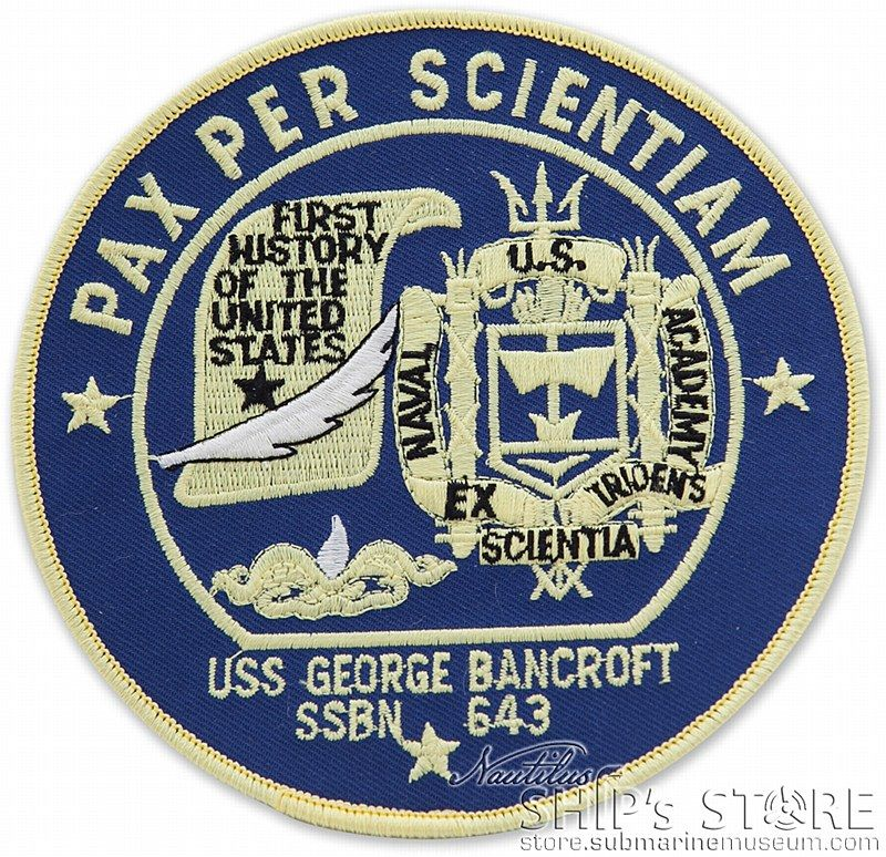 Patch 643 G Bancroft Patches Us Navy Navy