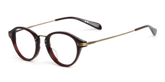 Unisex Mixed Material Full Frame Glasses