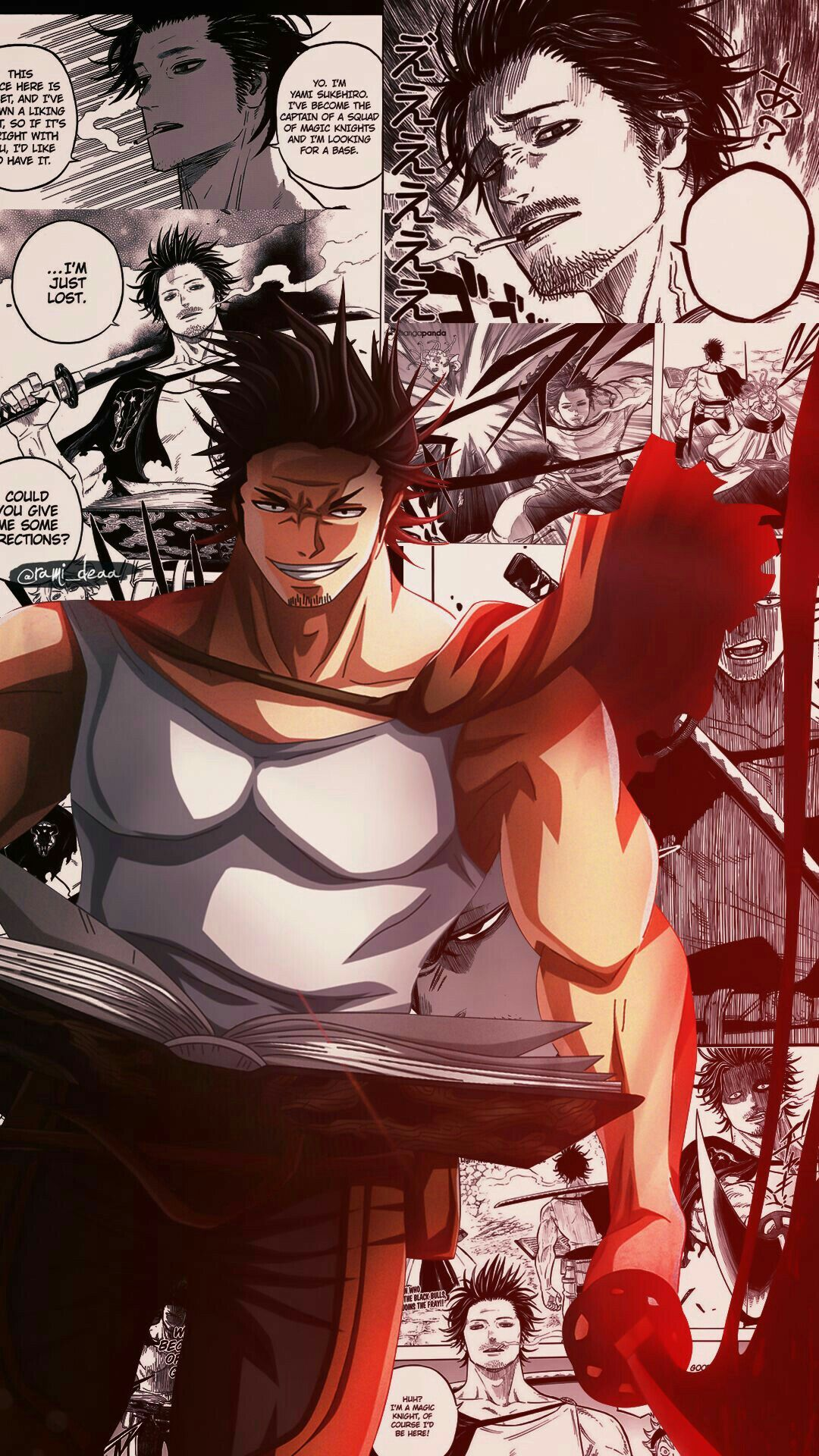 Pin De Moataz Alawady Em Black Clover Em 2020 Manga Wallpaper Animes Wallpapers Animes Manga