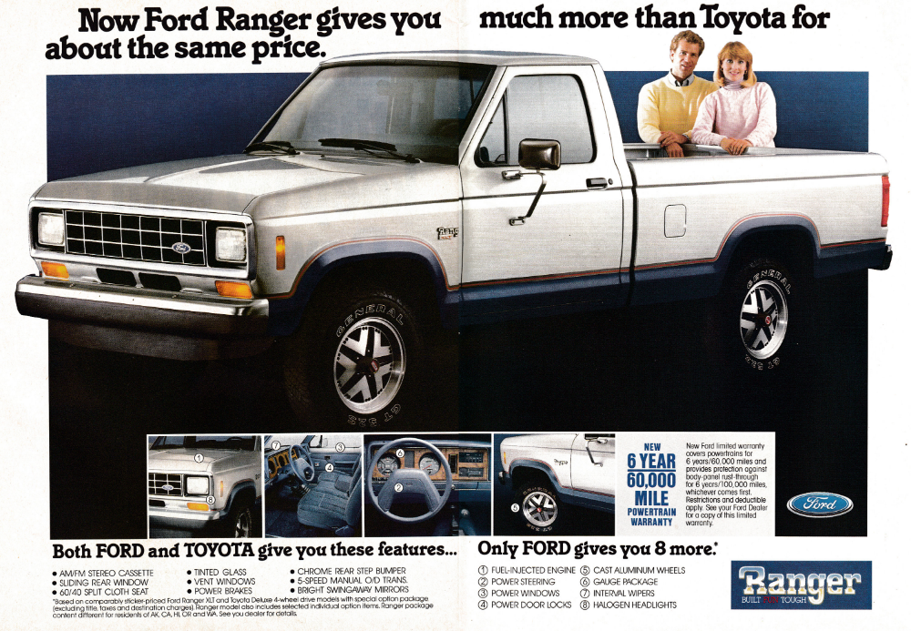 1987 Ford Ranger More Truck Than Toyota Same Price Original 2