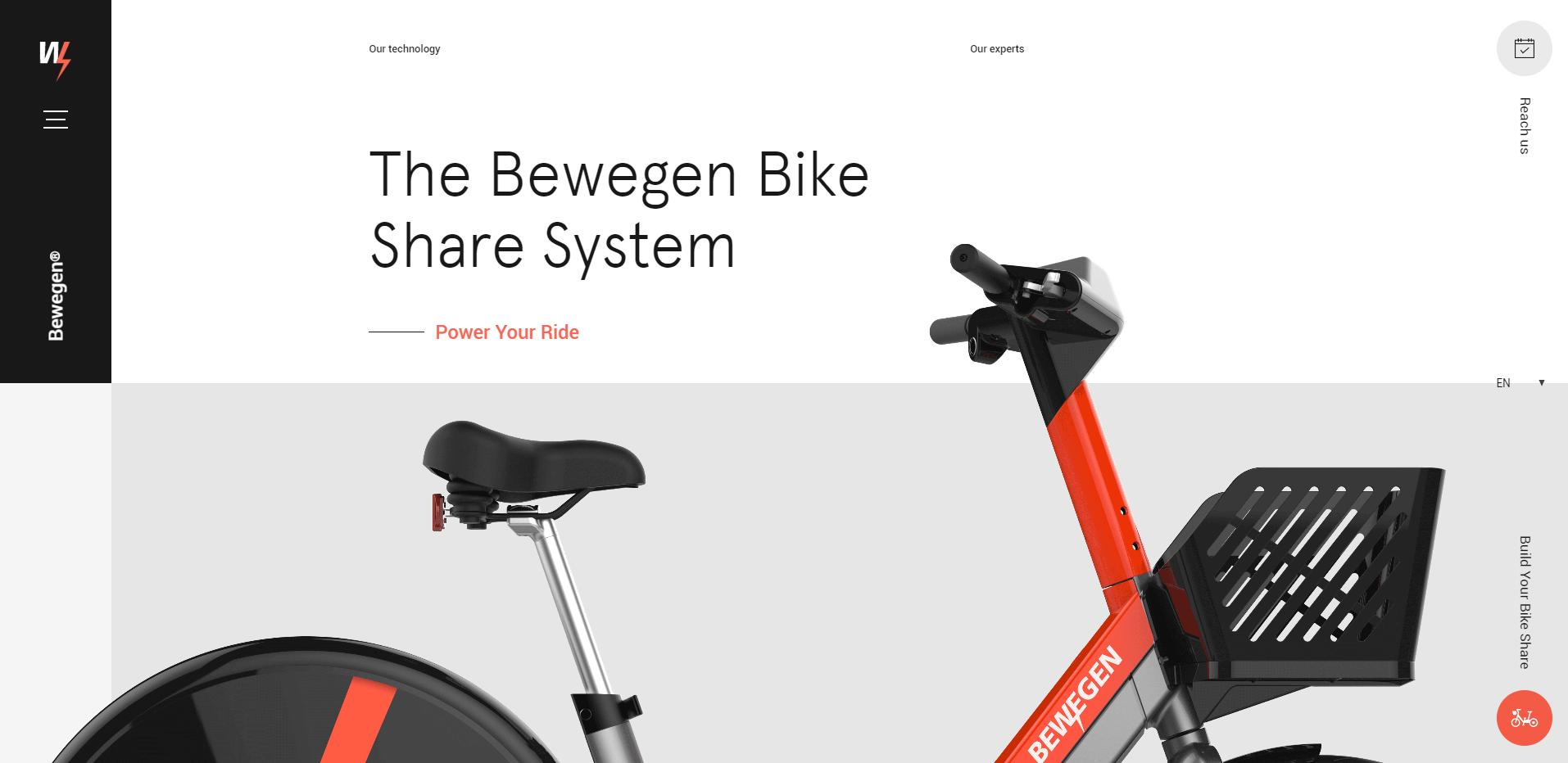 Build Your Own Bike Website