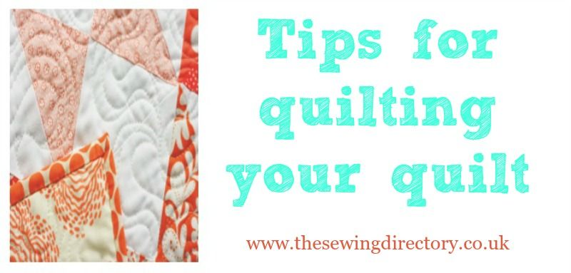 Tips for quilting your quilt