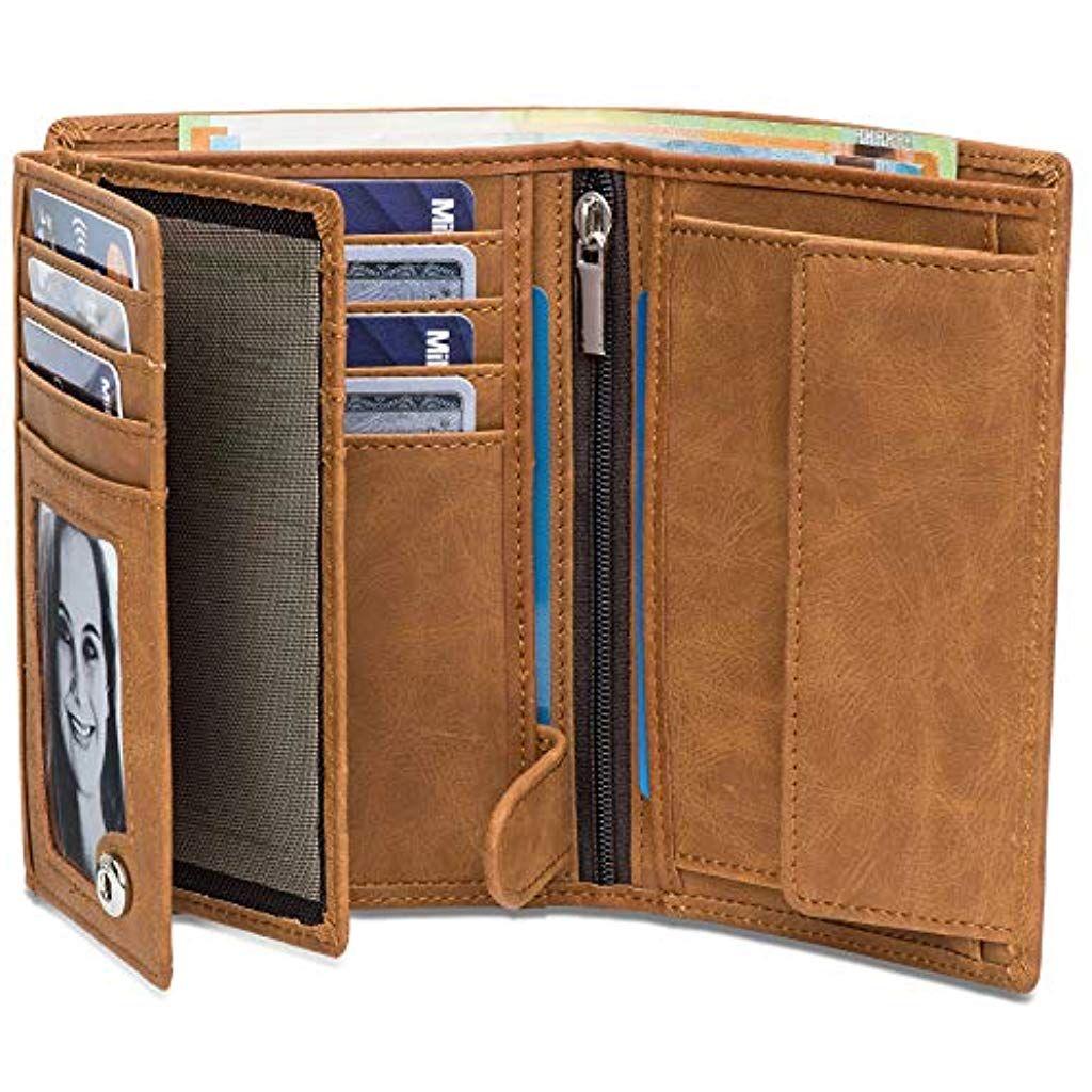 Schwarz inklusive Edler Geschenkbox Geldbeutel mit M/ünzfach Das ORIGINAL Der perfekte Begleiter f/ür unterwegs /… Datenschutz Dank RFID West Magic Wallet