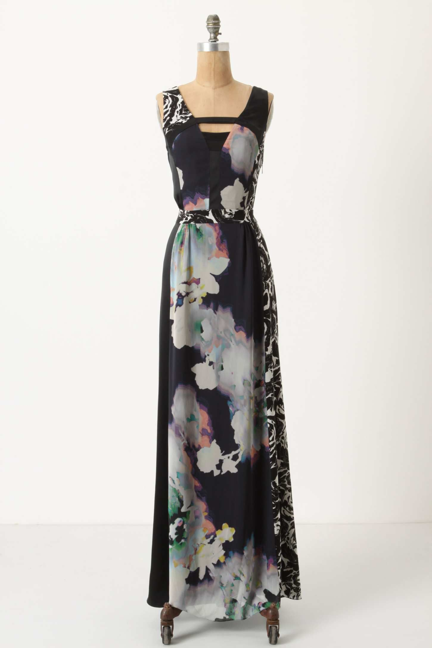 Anthropologie // Winterbloom Maxi Dress. Dress up or down and it will look fabulous whatever the occasion.
