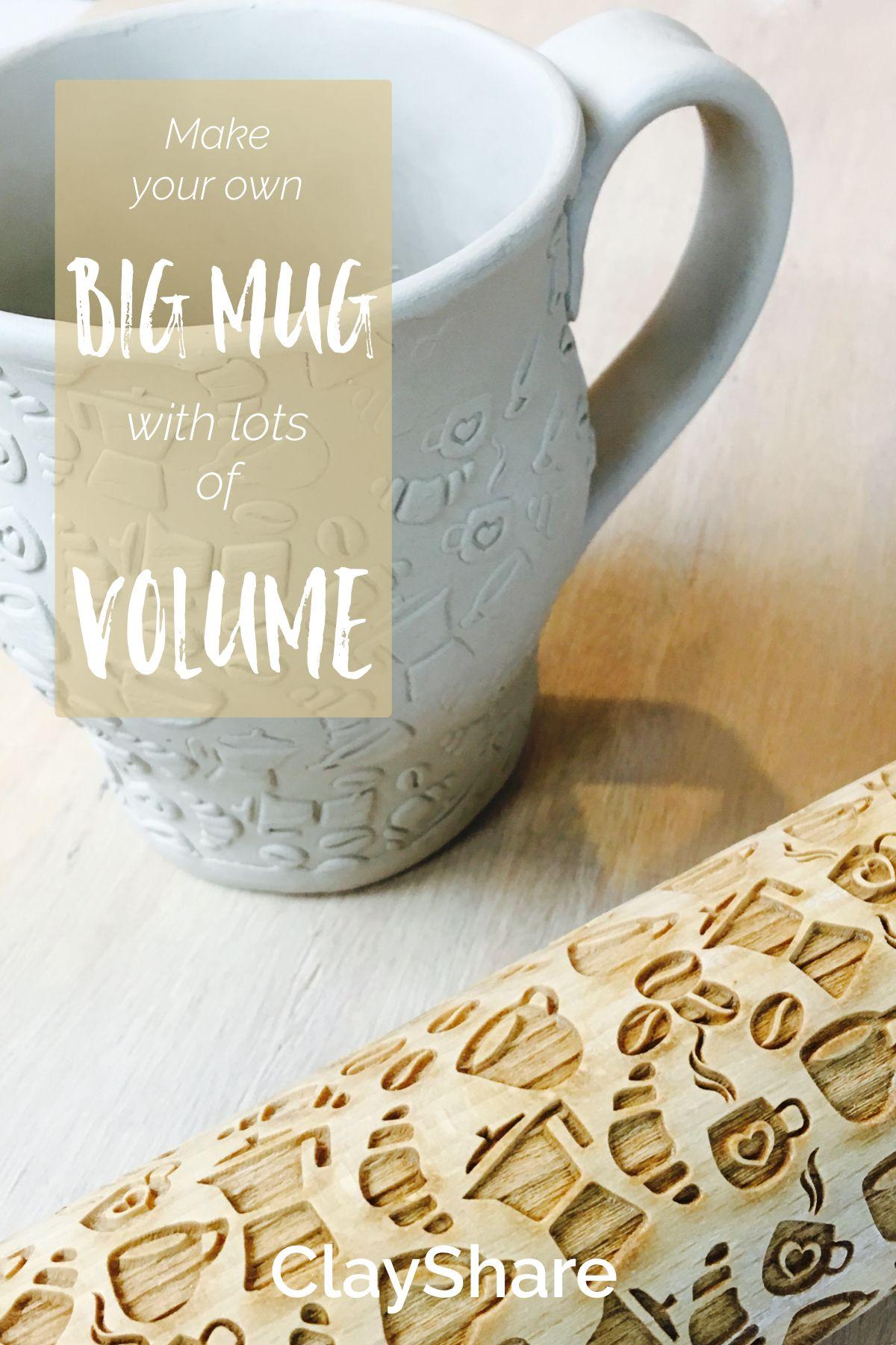 Big Mug with Lots of Volume | Pottery | Pottery mugs, Mugs