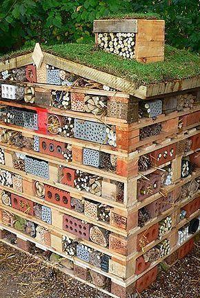 Schöne Bienenhotels bauen #bauen #bienenhotels #schone #gardendesign