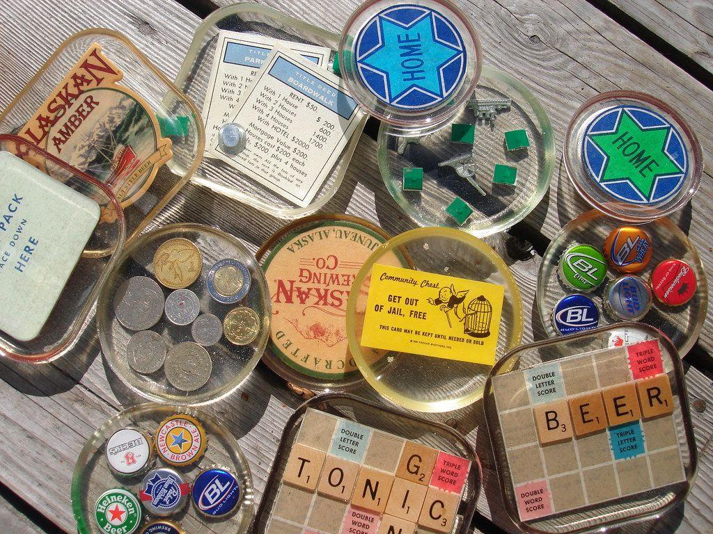 Coaster mandess diy resin crafts resin crafts diy
