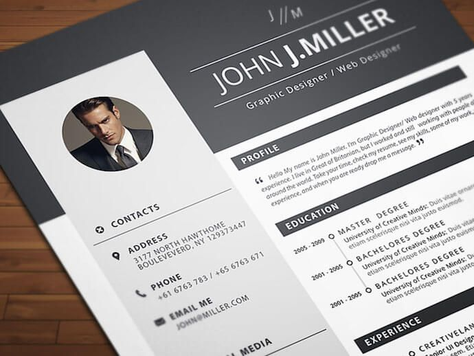 25 free resume templates for microsoft word   u0026 how to make your own
